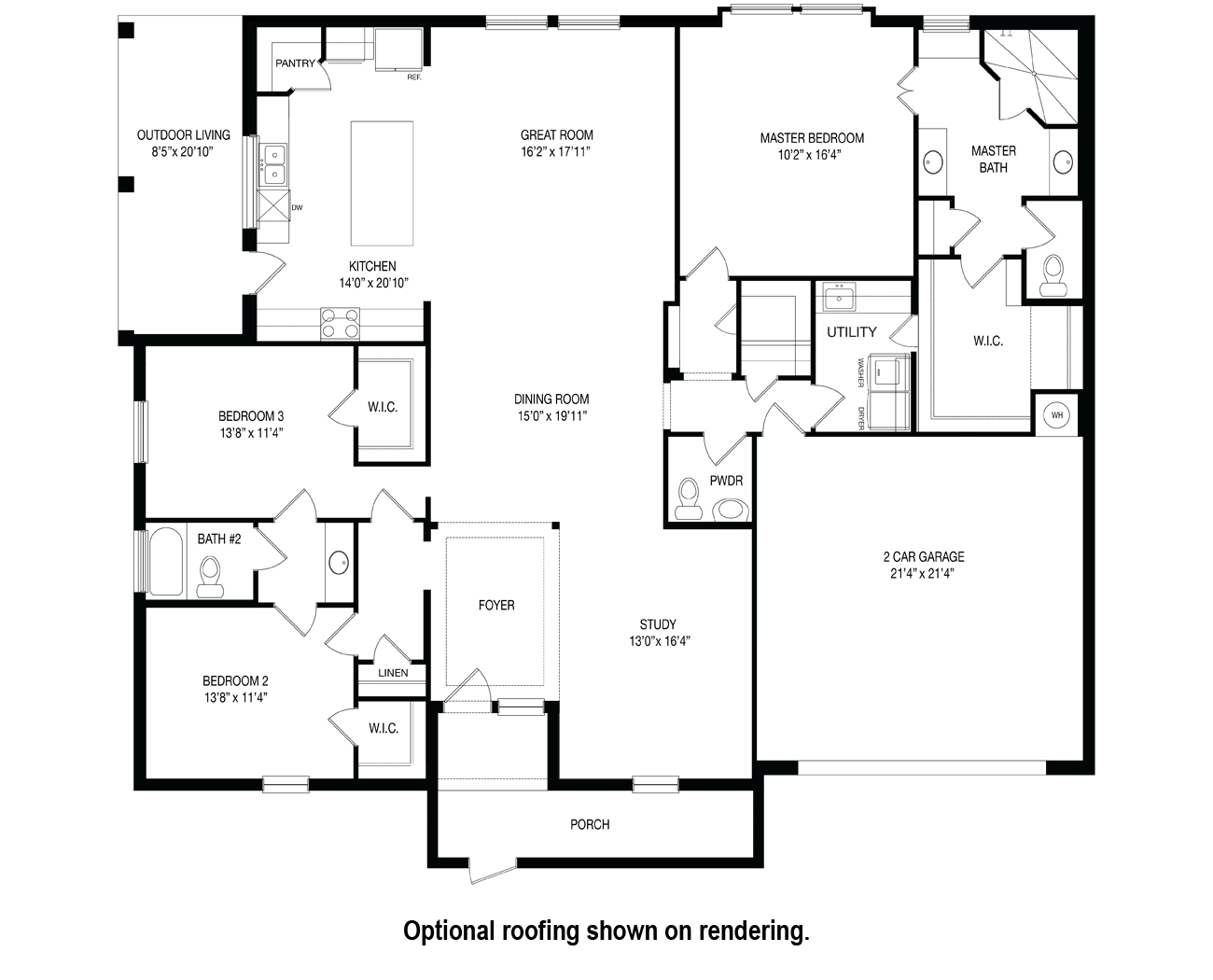 Floorplan for Barnard