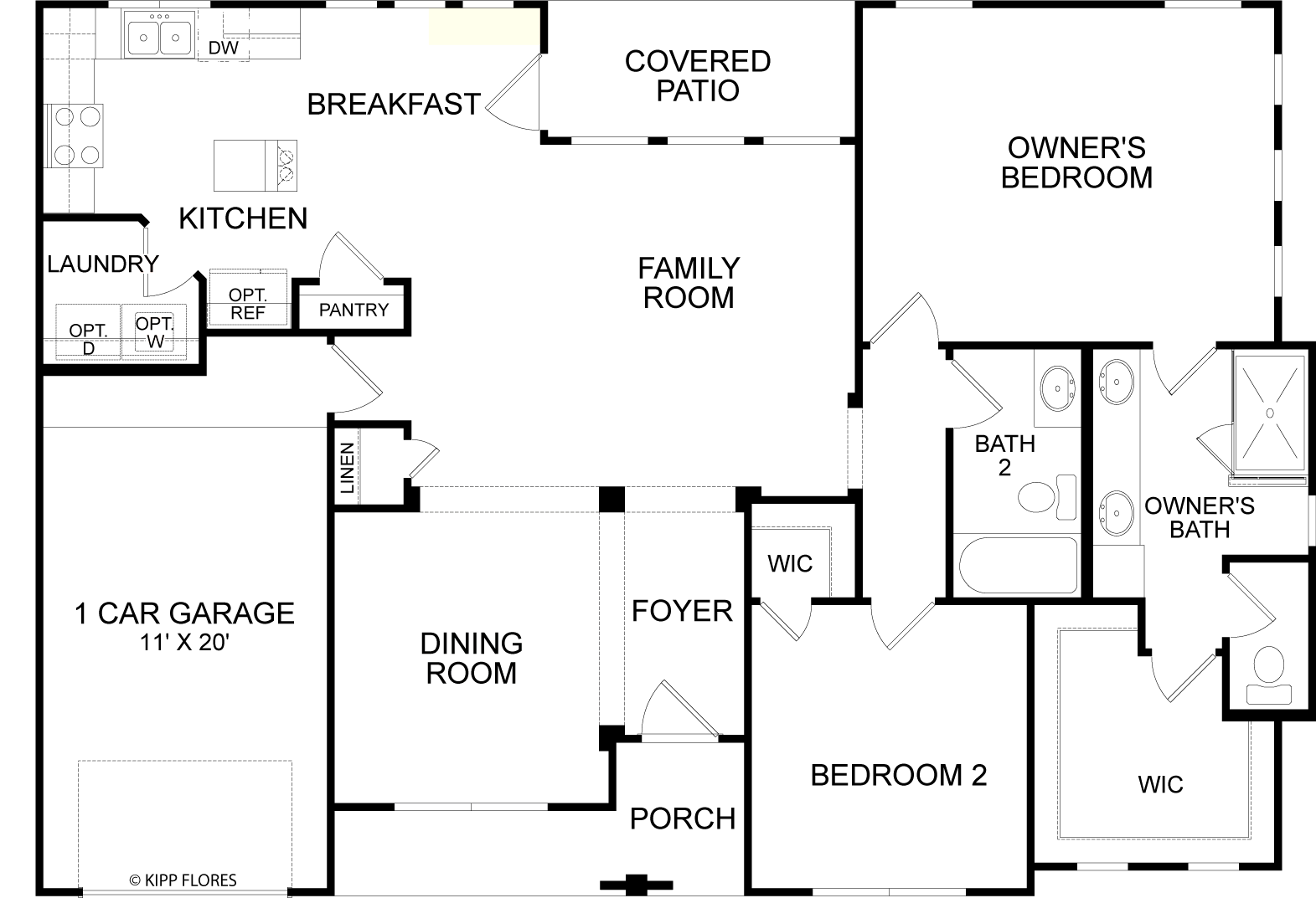 Floorplan for Residence 2